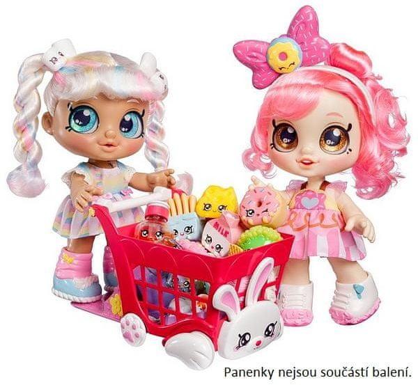 TM Toys Kindi Kids nákupní vozík s doplňky