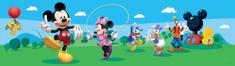 AG design bordiura samoprzylepna Myszka Miki tańczy z przyjaciółmi 5 m x 14 cm