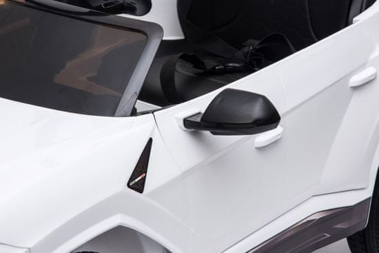 Beneo Elektrické autíčko Lamborghini Urus, 12V, 2,4 GHz dálkové ovládání, USB / SD Vstup, odpružení