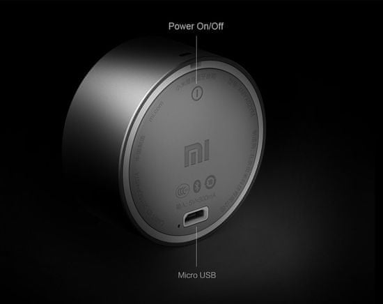 Xiaomi Mi Bluetooth zvočnik MINI, siv