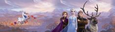 AG design Elsa v gorah s prijatelji samolepilna obroba, 5 m x 14 cm