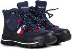 Tommy Hilfiger fiú bokacipő T3B5-30968-0751800 30 kék