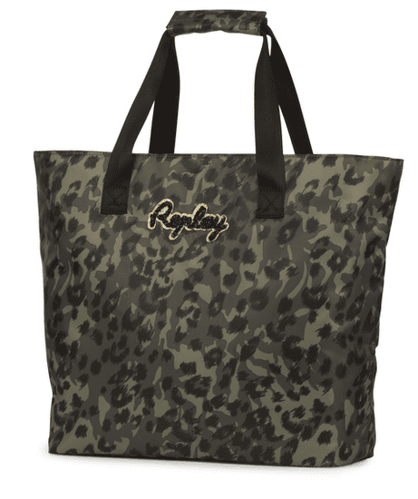 Replay Girl torba na rame, 36x37x15 cm, Leopard