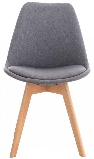 BHM Germany Jedálenská stolička Ingrid, šedá