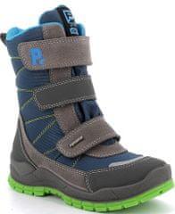Primigi 6399533 fantovski zimski čevlji, sivo-modri, 32