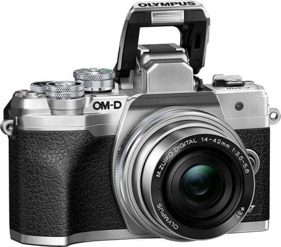 Olympus E-M10 Mark IV fotoaparat + 14-42 EZ + 40-150