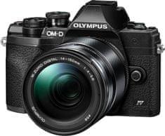 Olympus E-M10 Mark IV fotoaparat Black + 14-150