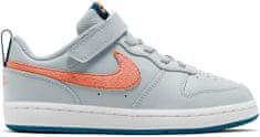 Nike BQ5451-009 Court Borough Low 2 otroški čevlji, sivi, 34