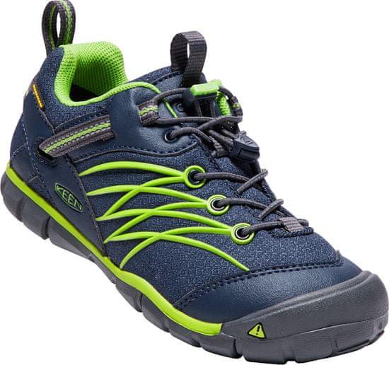 KEEN Chandler CNX WP Y DRESS BLUES/GREENERY otroški pohodniški čevlji