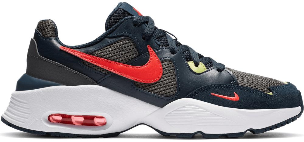 Nike dětská obuv Air Max Fusion CJ3824-400 35,5, modrá