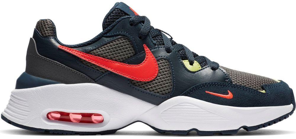 Nike dětská obuv Air Max Fusion CJ3824-400 38,5, modrá