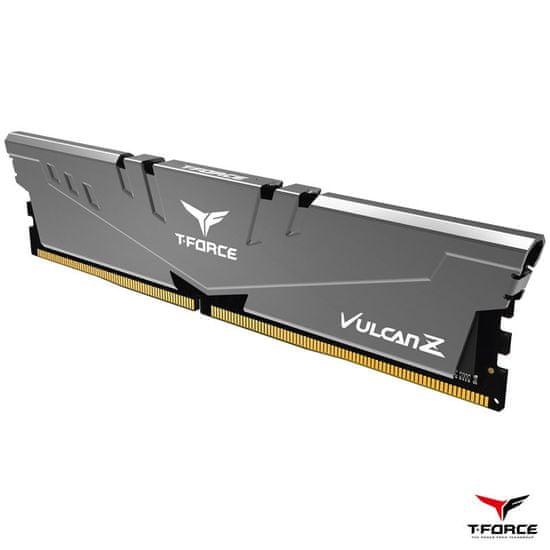 TeamGroup T-Force Vulcan Z pomnilnik (RAM), DDR4 16 GB (2x8GB), 3200 MHz, CL16, siv (TLZGD416G3200HC16CDC01)