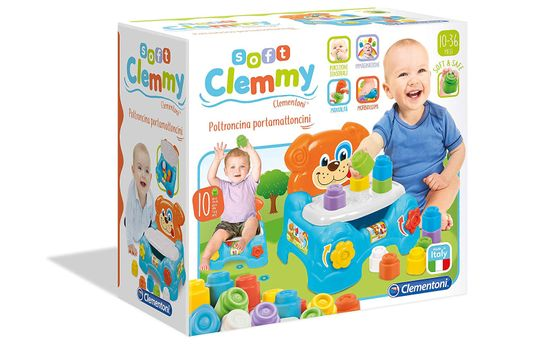 Clementoni kocke Clemmy 3v1, stol 17080