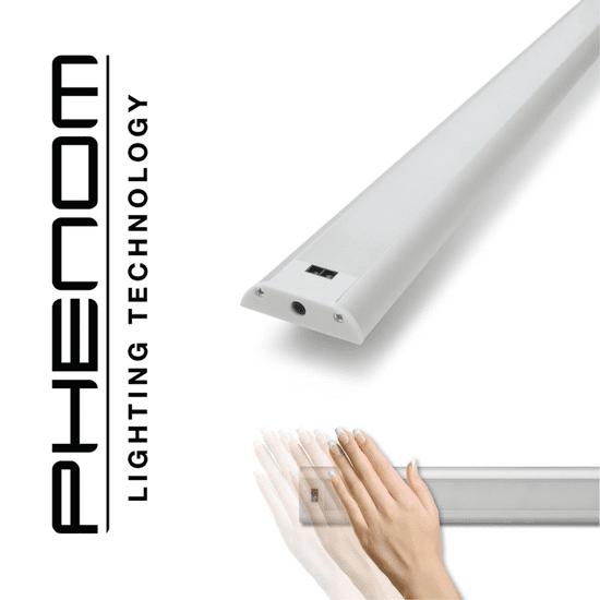 PHENOM Podelementna LED svetilka 60cm 9W 4000K z brezstičnim IR senzorjem kratkega dosega (on/off/dimmer)