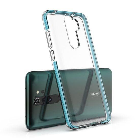 MG Spring Case silikonski ovitek za Xiaomi Redmi Note 8 Pro, modro