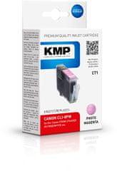 KMP Canon CLI-8PM (Canon CLI 8PM, Canon CLI 8 PM) červený foto inkoust pro tiskárny Canon
