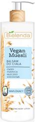 Bielenda VEGAN MUESLI Pšenica + Ovos + Kokosové mlieko hydratačné telové mlieko 400ml