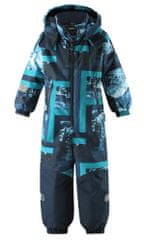Reima Snowy fantovski zimski kombinezon, temno moder, 110 - Odprta embalaža