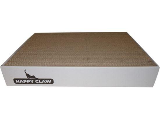 HappyClaw Škrabadlo L - bílá - 44x34x7 cm