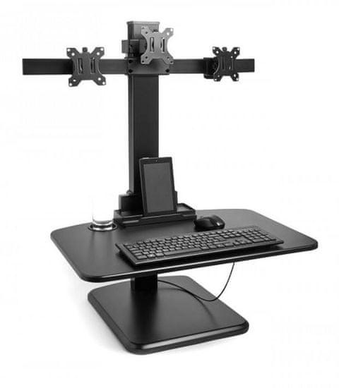 VonHaus Sit-Stand delovna postaja za več monitorjev (VONTV-3000167)