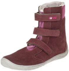 Fare dekliški zimski čevlji 5641291, 34, rdeči