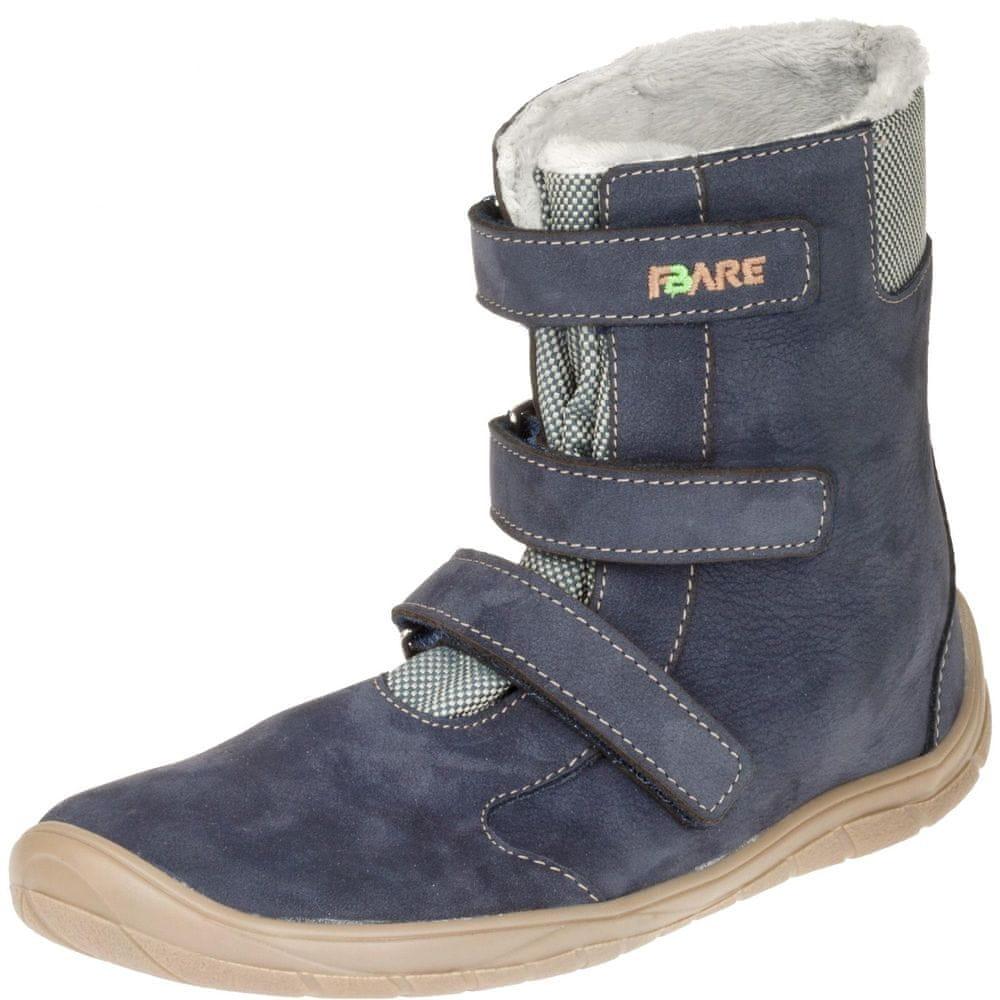 Fare bare dětská zimní obuv 5641201 33, modrá