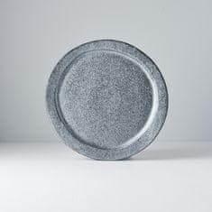 MIJ Kulatý talíř Craft Black 24,5 cm