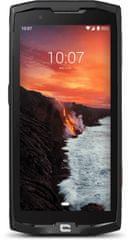 Crosscall Core-X4 mobilni telefon, črn + DARILO: X-Dock polnilec