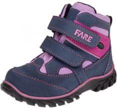 Fare 826253 dekliški pohodniški čevlji, modro-roza, 24