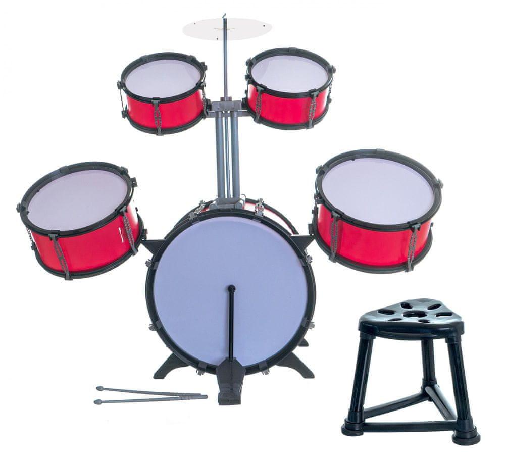 Teddies Bicí souprava/bubny plast 5ks
