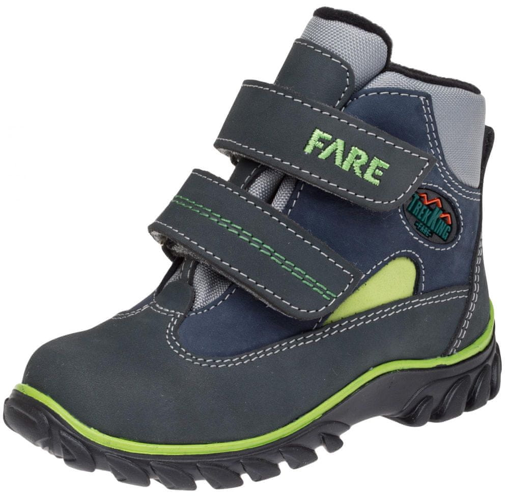 Fare dětská celoroční treková obuv 827264 24, modrá