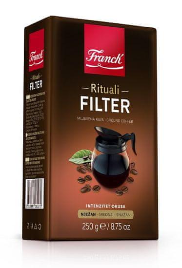 Franck Rituali Filter kava, 250 g