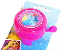 Volare Dětský zvonek na kolo - Disney Princess
