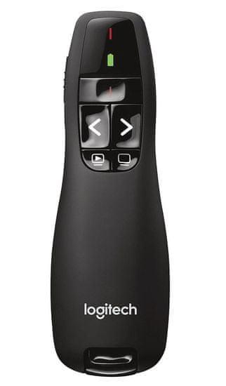 Logitech Wireless Presenter R400, 2.4 GHz, USB