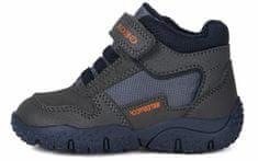 Geox chlapecká kotníčková obuv Baltic B0442A 0CEFU C0739 20 tmavě šedá