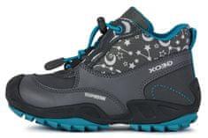 Geox J04CCA 0HHFU C0250 New Savage dekliški gležnjarji, temno sivi, 38