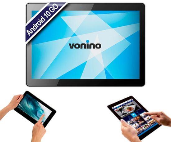 Vonino Magnet G10 tablica, 25,65cm (10.1), 4G-LTE, IPS 1280x800, Android 10 GO, 2GB+16GB+MicroSD, GPS, črna-modra