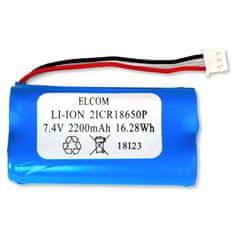 Elcom Li-Ion baterie pro Elcom Euro-50/150TEi, 7,4V 2200mAh