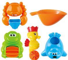Teddies zabawki do kąpieli - Młynek do wody zwierzątka