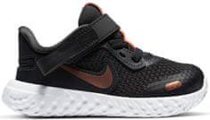 Nike dekliški teniski Nike Revolution 5 FlyEase CQ4651-012, 22, sivi