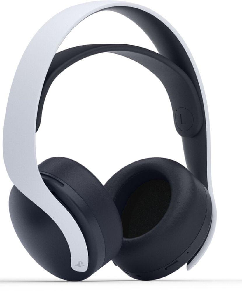Sony PlayStation 5 - Pulse 3D Wireless Headset, černá/bílá (PS719387909)