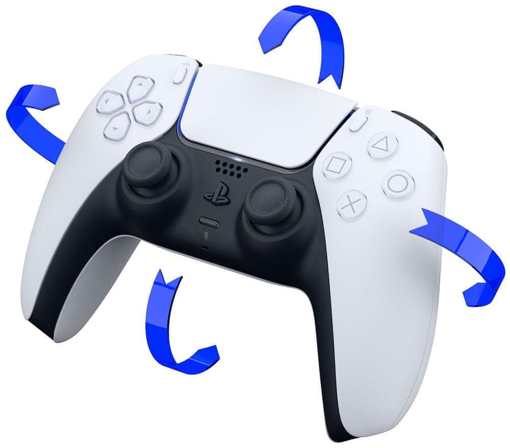 Sony PlayStation 5 - DualSense, bílý (PS719399605)