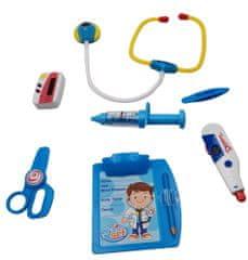 Teddies Sada doktor/lekár stetoskop na batérie