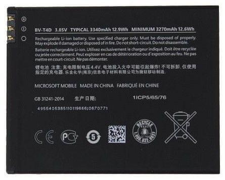 Nokia BV-T4D Baterie 3340mAh Li-Ion (Bulk) 2434627