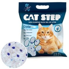 CAT STEP Crystal Blue żwirek silikatowy 6,68 kg