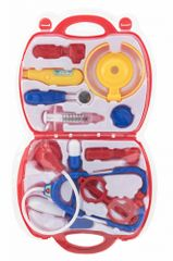 Teddies Sada doktor/lekár v plastovom kufríku