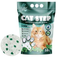 CAT STEP Crystal Fresh Mint silikátové stelivo 1,67 kg