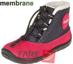 Fare dekliški zimski čevlji 5443241, 23, rdeči/črni