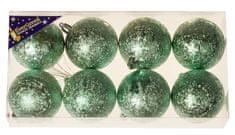 EverGreen Božične krogle, 8x, 6 cm3