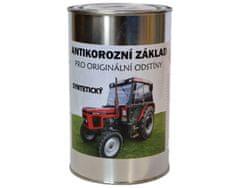 BARVY NA TRAKTORY Antikorozní základ syntetický, šedá, 1kg